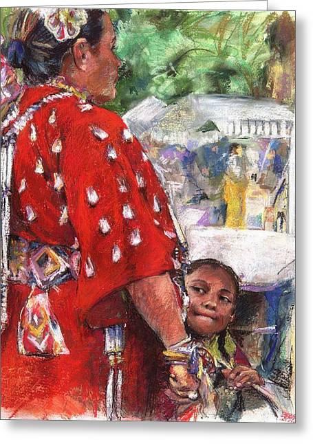 Arizona Artist Greeting Cards - Aspire Greeting Card by Debra Jones