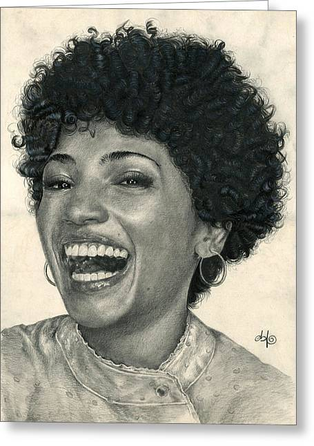 Division Greeting Cards - Astrid Farnsworth Jasika Nicole Greeting Card by Bianca Ferrando