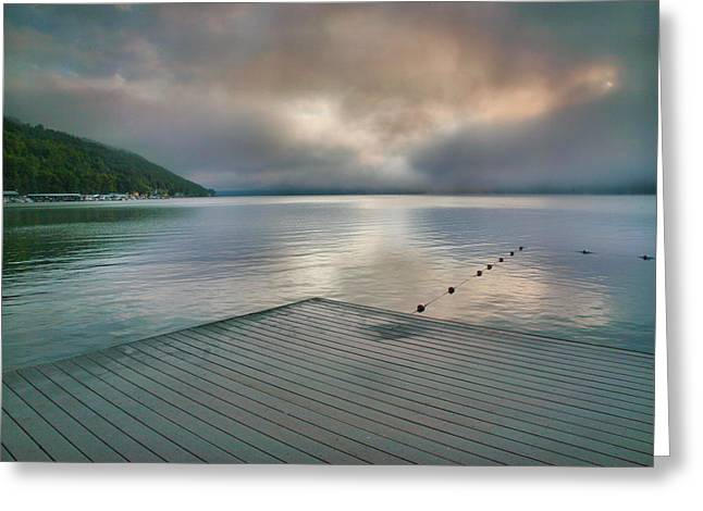 Keuka Greeting Cards - At Ease Greeting Card by Steven Ainsworth