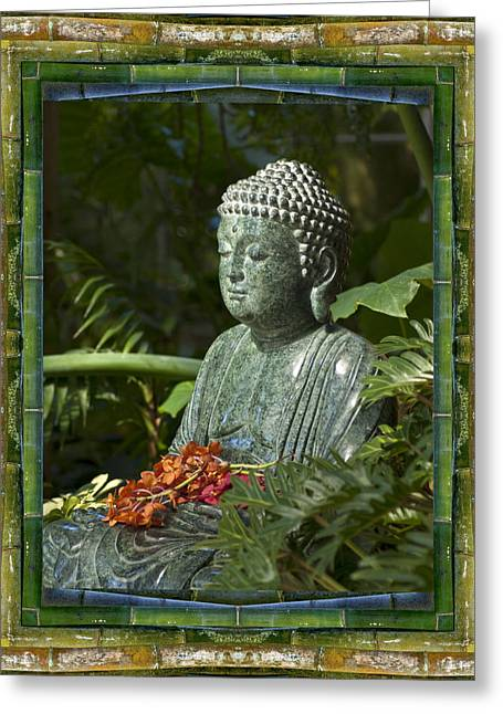 Recently Sold -  - Garden Statuary Greeting Cards - At Rest Greeting Card by Bell And Todd