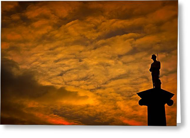 Australia Greeting Cards - At The Going Down of the Sun We Will Remember Them Greeting Card by Paul Donohoe