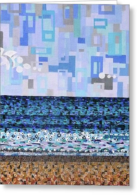 Atlantic Beaches Greeting Cards - Atlantic Beach Greeting Card by Micah Mullen