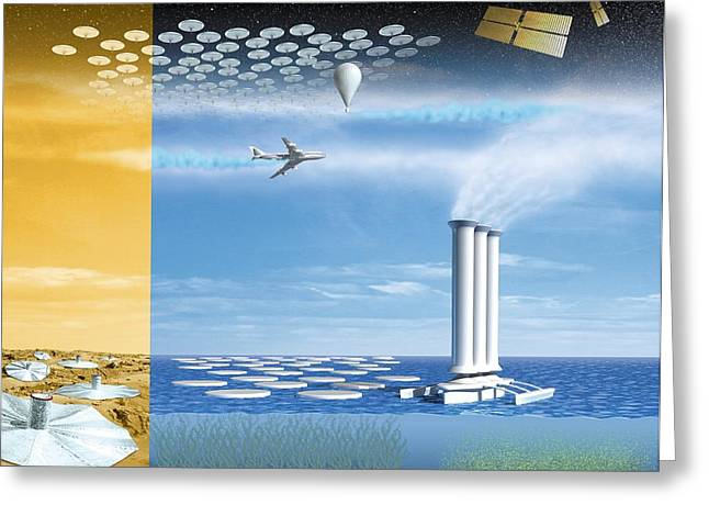 Altering Greeting Cards - Atmosphere Engineering Greeting Card by Henning Dalhoff