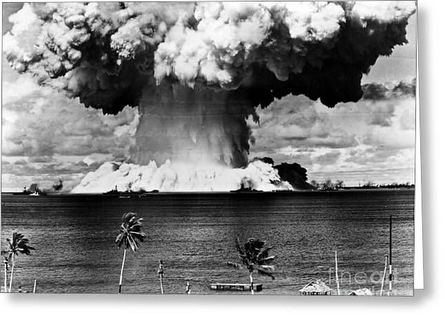 Doomsday Greeting Cards - Atomic Bomb Test, 1946 Greeting Card by Granger