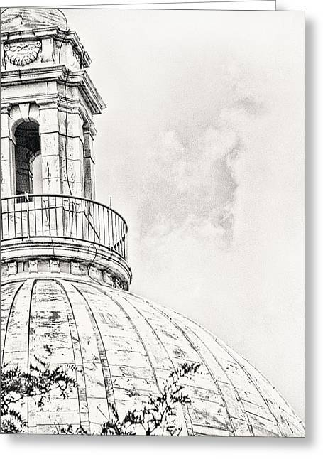 Capitol Greeting Cards - Atop Greeting Card by Lourry Legarde