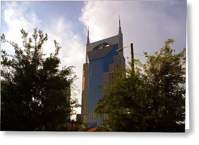 Nashville Greeting Cards - ATT and Batman are the same Greeting Card by Susanne Van Hulst