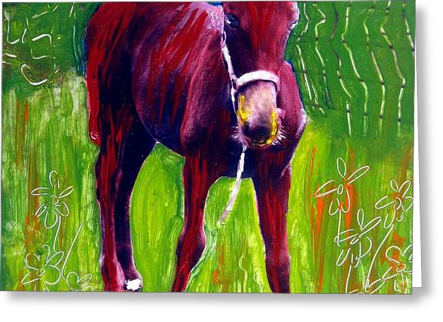Attitude Greeting Card by Michael Ballew