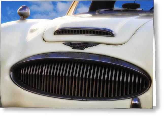 Austin Healey Greeting Card by Bill Cannon