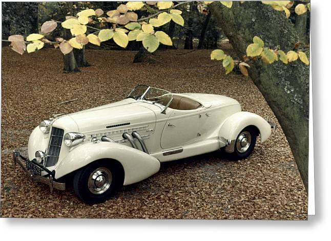 851 Greeting Cards - Auto: Auburn, 1935 Greeting Card by Granger