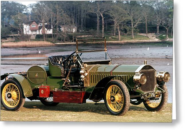 1907 Greeting Cards - Auto: Napier, 1907 Greeting Card by Granger