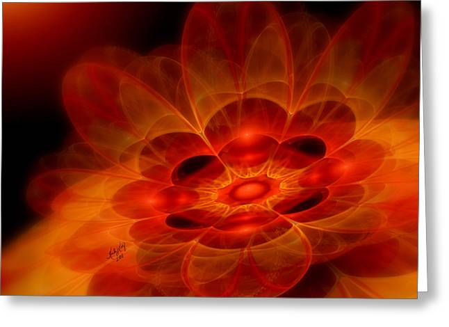 Karlajkitty Digital Art Greeting Cards - Autumn Awakening Greeting Card by Karla White