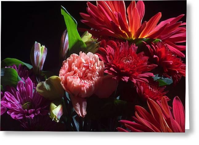Bouquet Greeting Cards - Autumn Bouquet  Greeting Card by Joe Kozlowski