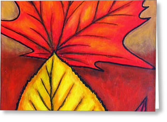 Autumn Glow Greeting Card by Lisa  Lorenz