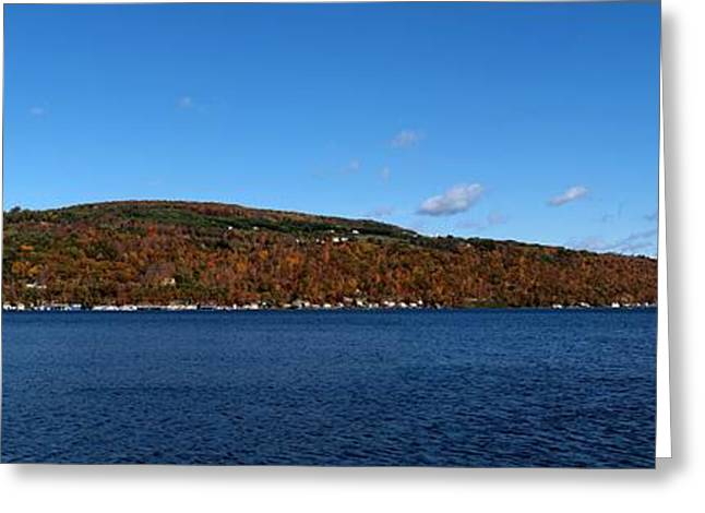 Finger Lakes Greeting Cards - Autumn in the Finger Lakes Greeting Card by Joshua House