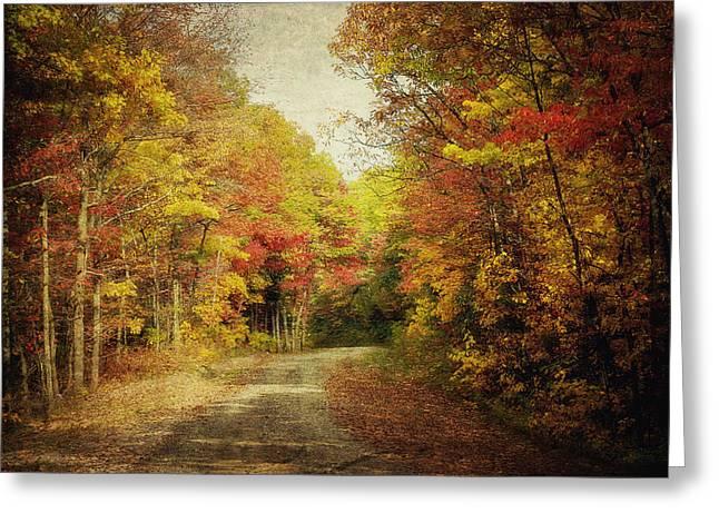 Kathy Jennings Photography Greeting Cards - Autumn In Virginia Greeting Card by Kathy Jennings