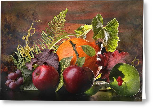 Autum Greeting Cards - Autumn light Greeting Card by Manfred Lutzius