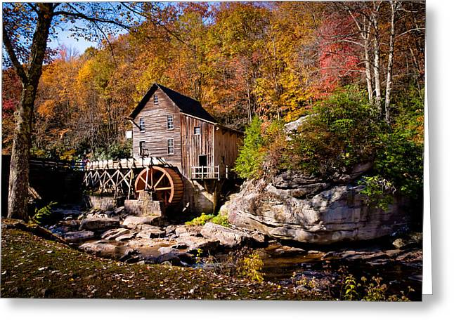 Autumn Morning in West Virginia Greeting Card by Jeanne Sheridan