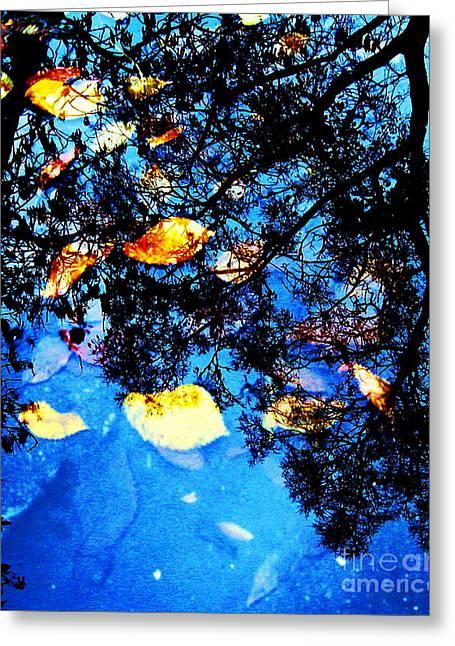 Autumn Reflection Greeting Card by Yury Bashkin
