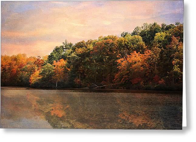 Autumn Reflections 2 Greeting Card by Jai Johnson