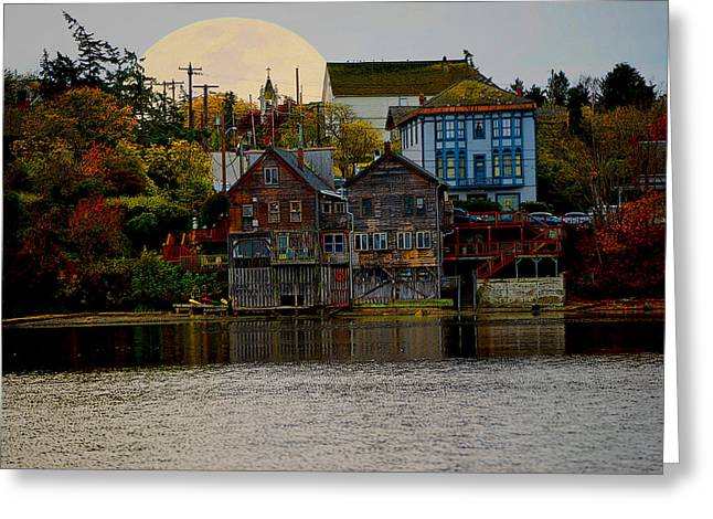 Autumn View Greeting Card by Kurt Adams