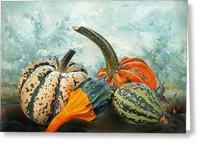 Essen Greeting Cards - Autumnal Greeting Card by Manfred Lutzius