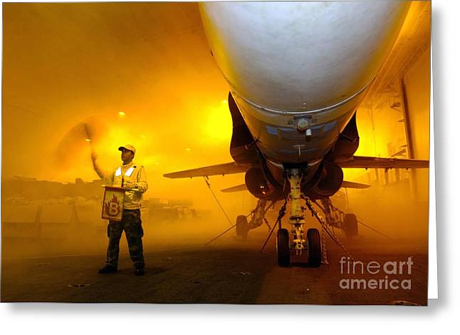 Aviation Boatswains Mate Waves Class Greeting Card by Stocktrek Images