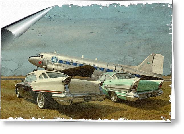 Steven Agius Greeting Cards - Aviation of the Past Greeting Card by Steven Agius