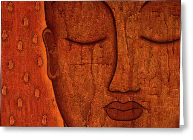 Awakened Mind Greeting Card by Gloria Rothrock