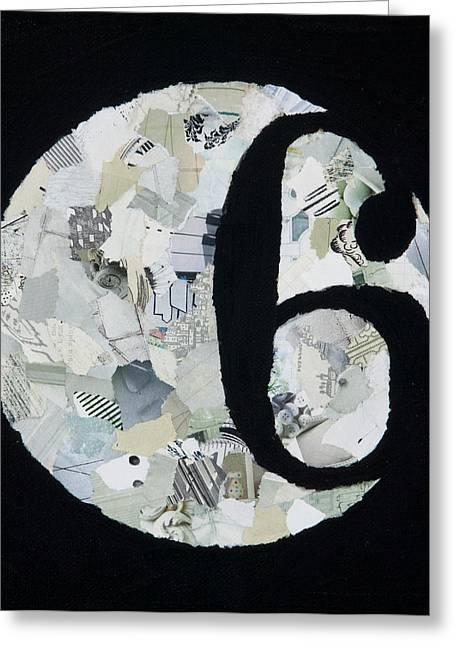Negative Mixed Media Greeting Cards - Awareness Greeting Card by Missy Borden