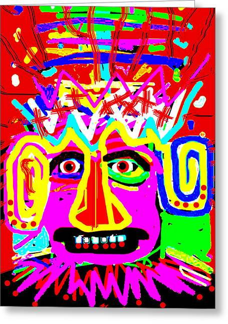 Cellphone Greeting Cards - Azteca 1 Greeting Card by Doug  Duffey