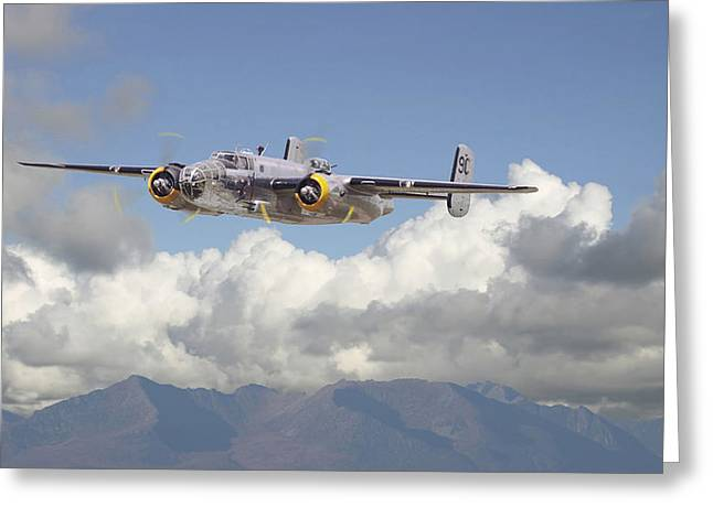 B25 - Corsica Greeting Card by Pat Speirs
