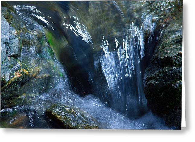 Babbling Greeting Cards - Babbling Waters Greeting Card by Mike Flynn