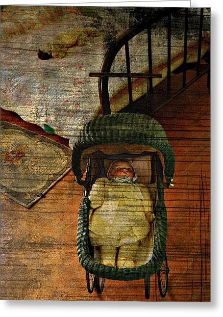 Edmonton Photographer Greeting Cards - Baby Doll Greeting Card by Jerry Cordeiro