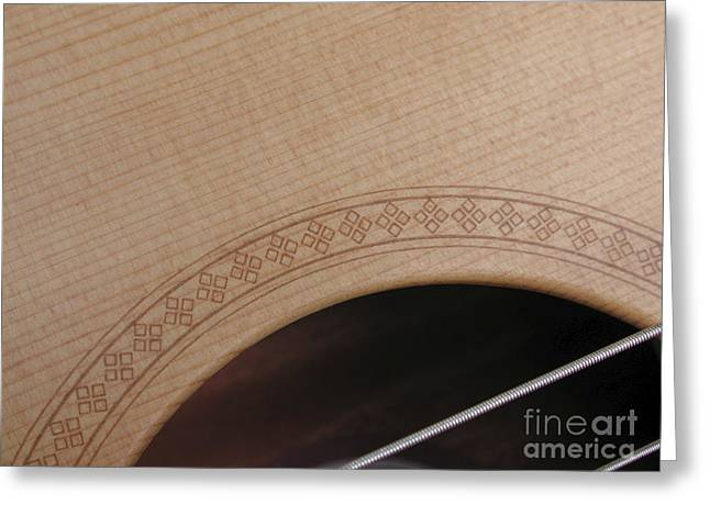 Taylor Guitar Greeting Cards - Baby Taylor Greeting Card by Kathi Shotwell