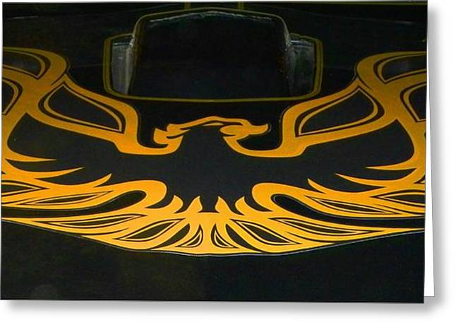 Tricked-out Cars Greeting Cards - Back From The Ashes Greeting Card by Chuck Re