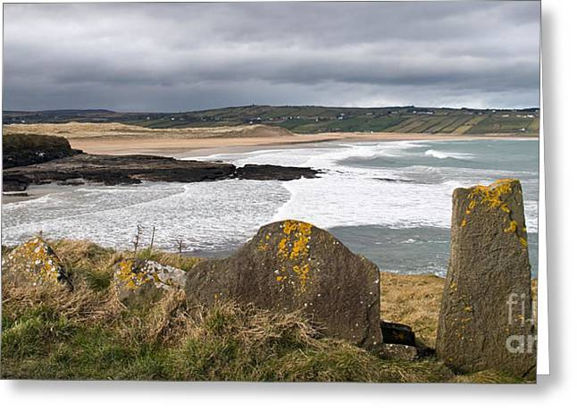 Ireland Photographs Greeting Cards - Back Strand 4 Greeting Card by Marion Galt