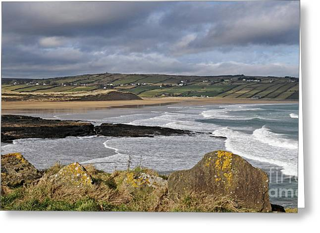 Ireland Photographs Greeting Cards - Back Strand 5 Greeting Card by Marion Galt