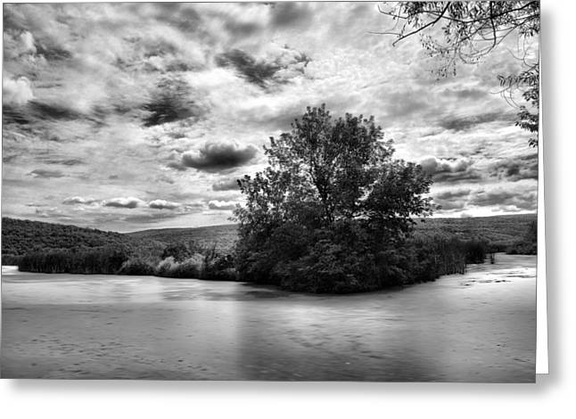 Canandaigua Greeting Cards - Backwaters Greeting Card by Steven Ainsworth