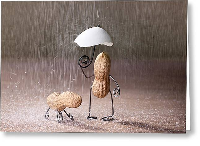 Bad Weather 02 Greeting Card by Nailia Schwarz