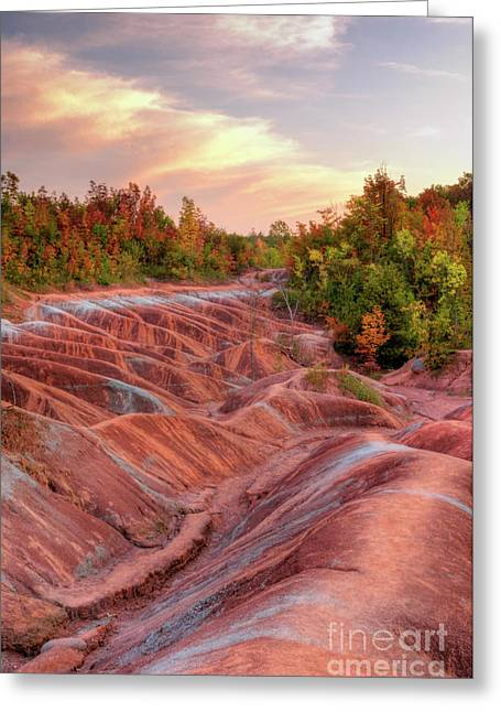 Hdri Greeting Cards - Badlands Greeting Card by Oleksiy Maksymenko