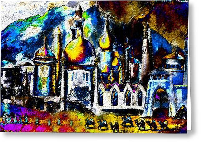 Baghdad Greeting Cards - Baghdad  Greeting Card by David Lee Thompson