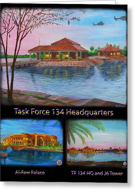 Baghdad Paintings Greeting Cards - Baghdad Memories Greeting Card by Michael Matthews
