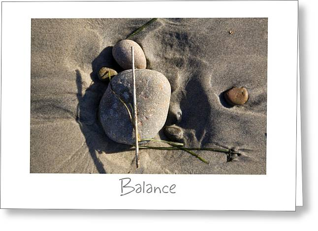 California Beach Greeting Cards - Balance Greeting Card by Peter Tellone