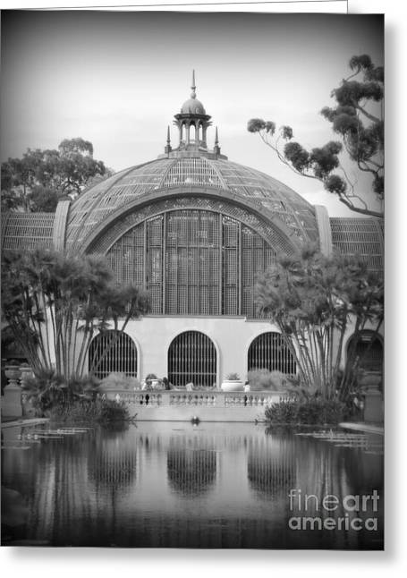 Conservatory Garden Greeting Cards - Balboa Park Botanical Garden Greeting Card by Karyn Robinson