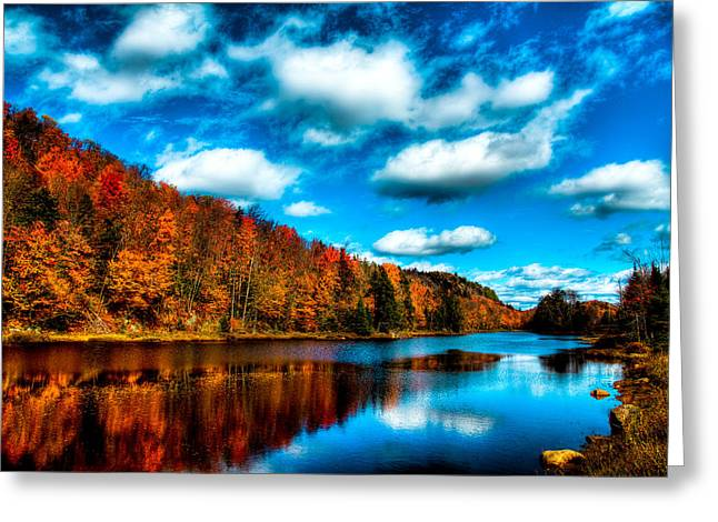 Bald Mountain Pond II Greeting Card by David Patterson