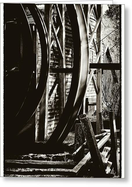 Bale Grist Mill Greeting Cards - Bale Grist Mill Greeting Card by Laszlo Rekasi
