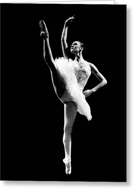 Ballet Dancers Photographs Greeting Cards - Ballet Dance 3 Greeting Card by Sumit Mehndiratta