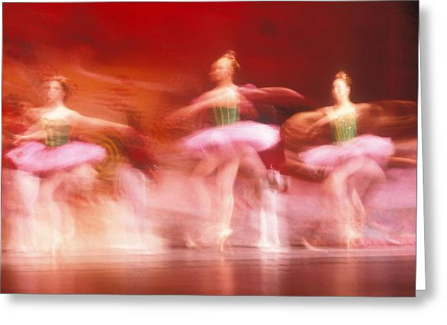 Ballet Dancers Greeting Cards - Ballet dancers Greeting Card by John Wong