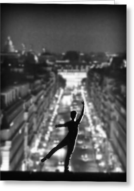 French Open Greeting Cards - Ballet in Paris Greeting Card by Al Hurley