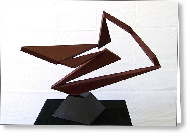 Abstract Movement Sculptures Greeting Cards - Ballet Greeting Card by John Neumann